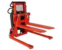 ELECTRIC LIFT/MANUAL PUSH ELFS STRADDLE STACKER